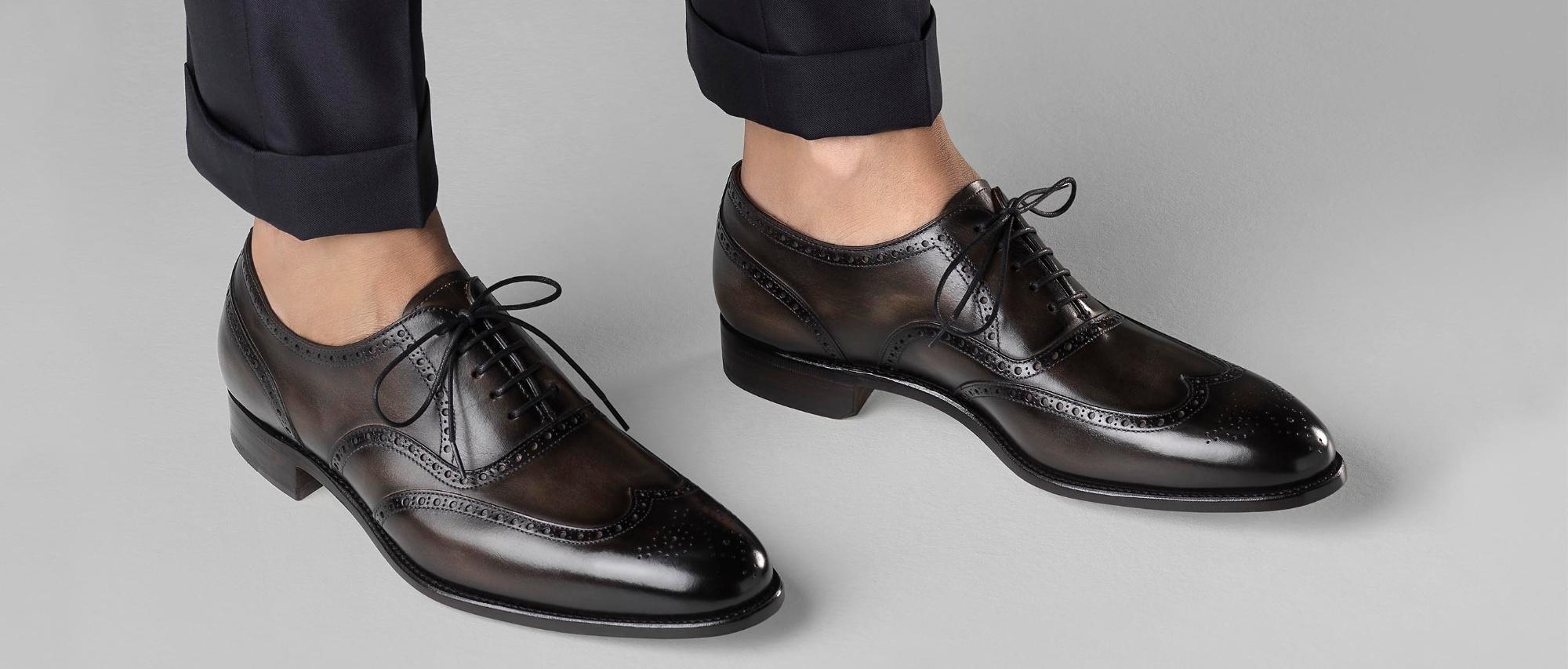 Wingtip Brogue Shoes | Carlos Santos